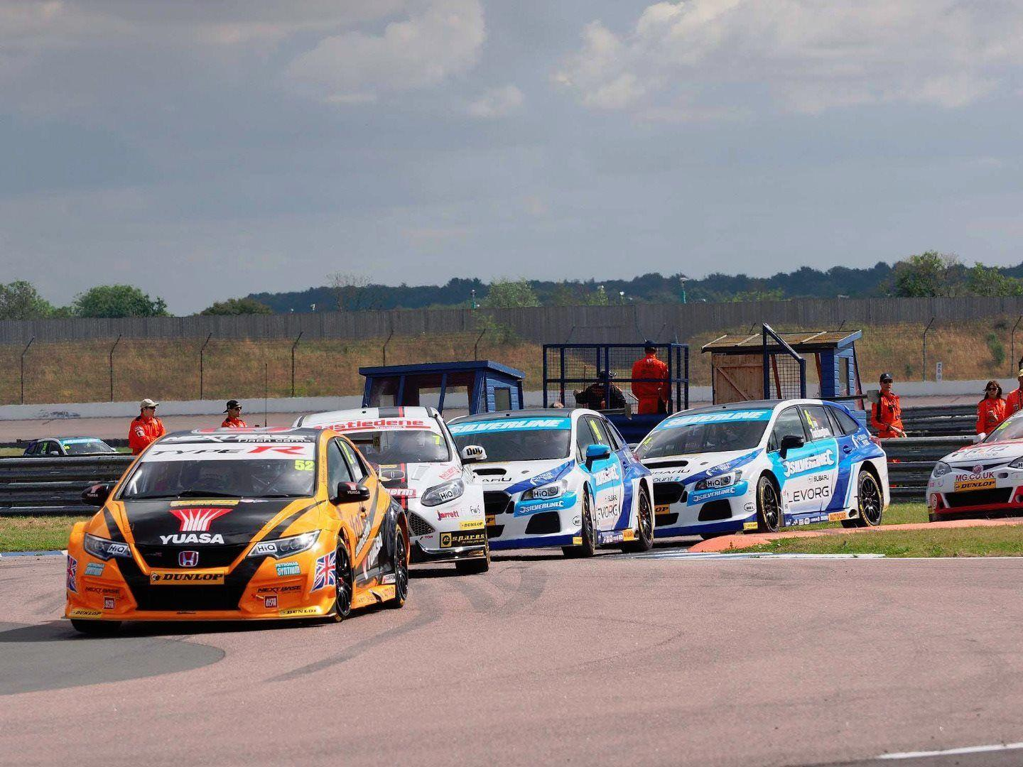 SUBARU STORM THROUGH THE FIELD AT ROCKINGHAM